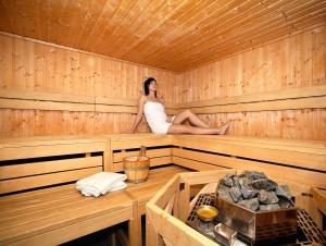 Schalten Sie in der Sauna ab! Quelle: Wohlf�hlhotel in Oberwiesenthal / Erzgebirge - beauty24 GmbH