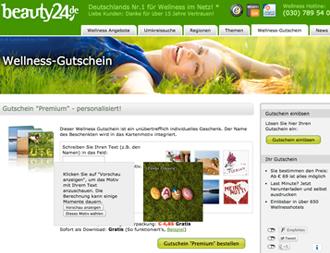 Es fehlt noch ein kleines Ostergeschenk? Dann verschenken Sie doch einen Wellness-Gutschein! Quelle: beauty24 GmbH