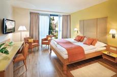 Blick ins traumhafte Zimmer. Quelle: Wellness-Resort im Kamptal, Niederösterreich
