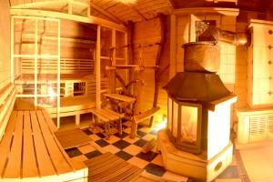 Wohlige Wärme finden Sie in der Sauna. Quelle: Wellness in den Ardennen, Belgien - beauty24 GmbH