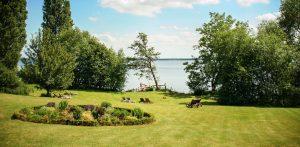 Was für eine friedvolle Aussicht! Quelle: Seehotel am Plöner See - beauty24 GmbH