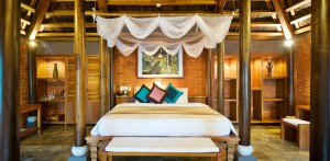 Ihr Schlafgemach! Quelle: Pilgrimage Village Boutique Resort & Spa, Vietnam - beauty24 GmbH