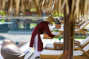 Vietnam spüren! Quelle: Pilgrimage Village Boutique Resort & Spa, Vietnam - beauty24 GmbH