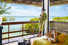 Wellness & Luxus pur auf Mauritius. Quelle: Four Seasons Mauritius - beauty24 GmbH.
