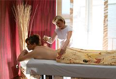 Von Kopf bis Fuß entspannen, das geht besonders gut im Wellnessurlaub in Tabarz. Quelle: Wohlfühlhotel am Inselsberg, Thüringer Wald - beauty24 GmbH