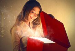 Geschenk mit WOW-Effket: Unser Wellness-Gutschein. Bildhinweis: © olly - Fotolia