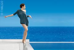 Wellness mit der Kraft des Meeres. Bildhinweis: © THALGO