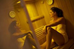 Entspannen in der Sauna. Quelle: Wellness-Hotel in Bad Wildungen - beauty24 GmbH