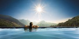 Der Panoramapool in Oberjoch - Bildhinweis: © Wellnesshotel in Oberjoch / beauty24 GmbH