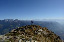 Wandern in den Bergen - Bildhinweis: © Wellness in Fügen, Tirol / beauty24 GmbH