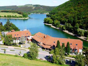 Ihre Wellness-Auszeit direkt am Ufer des Diemelsees! Quelle: Hotel / Beautyfarm am Diemelsee - beauty24 GmbH