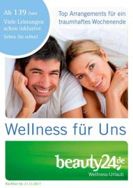 Der neue beauty24-Wellnesskatalog. Bildhinweis: © beauty24 GmbH
