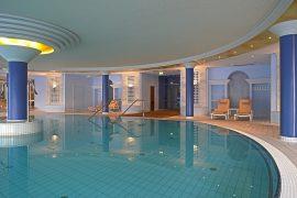 Entspannung ist am Thermalinnenpool garantiert, Bildhinweis: © Wohlfühlhotel in Bad Gögging;beauty24 GmbH