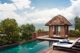Der Blick aus einer der Honeymoon-Villen Bildhinweis: © Vedana Lagoon Resort & Spa Vietnam;beauty24 GmbH