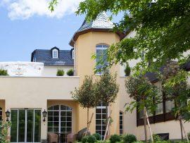 Genießen Sie die Sonne auf der Dachterrasse; Bildhinweis: © Wellnesshotel in Hadamar; beauty24 GmbH