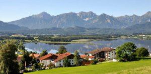 Willkommen im Allgäu! Quelle: Wellness-Hotel in Hopfen am See - beauty24 GmbH