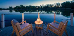 Romantische Sonnenuntergänge genießen! Quelle: Schwimmende Suiten Usedom - beauty24 GmbH
