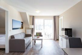 In den luxuriösen Appartments lässt es sich vorzüglich entspannen; Bildhinweis: © Wellness im Ostseebad Markgrafenheide ; beauty24 GmbH