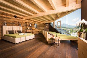 Was für eine fantastische Panorama-Aussicht! Quelle: Wellness in Leogang / Salzburger Land - beauty24 GmbH