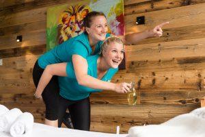 Ein bisschen Spaß muss sein; Quelle: Wellness in Leogang / Salzburger Land - beauty24 GmbH