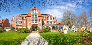 Das Wellnesshotel in Hohwacht heißt Sie willkommen. Quelle: Wellness im Ostseebad Hohwacht - beauty24 GmbH