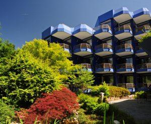 Das Thermenhotel in Badenweiler heißt Sie willkommen. Quelle: Thermenhotel in Badenweiler - beauty24 GmbH