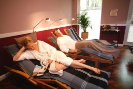 Im Ruheraum können Sie zu jeder Jahreszeit relaxen; Bildhinweis: © Wellness in Waren / Müritz; beauty24 GmbH