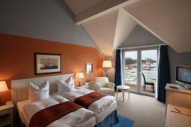 Ein Classic Zimmer wird für 5 Nächte Ihr Rückzugsort; Bildhinweis: © Wohlfühlhotel bei Rheinsberg; beauty24 GmbH
