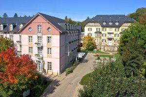 Das Wohlfühlhotel in Bad Steben heißt Sie willkommen. Quelle: Wohlfühlhotel Bad Steben / Franken - beauty24 GmbH