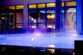 Im Poolbereich werden alle Ihre Sinne angesprochen. Bildhinweis: © Wohlfühlhotel bei Ingolstadt; beauty24 GmbH