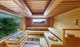 In der Sauna können Sie abschalten. Bildhinweis: © Wellnesshotel in Rostock; beauty24 GmbH