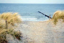Am Meer können Sie den Stress des Alltags vergessen; Bildhinweis: © Wellness bei Rostock / Warnemünde; beauty24 GmbH