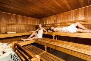 Wohlige Wärme in der Sauna; Quelle: Wellness in Kiel - beauty2 GmbH