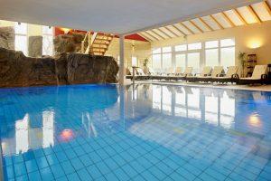 Der schöne Wellnessbereich verspricht Entspannung pur; Quelle: Wohlfühlhotel im Taubertal- beauty2 GmbH