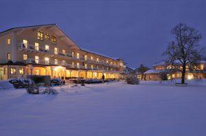 Winterliche Idylle im südlichen Bayern; Quelle: Spa Hotel im Berchtesgadener Land; beauty24 GmbH