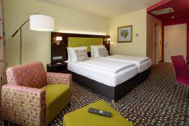 Schlafen wie auf Wolken, in frisch renovierten Zimmern. Bildhinweis: © Vitalhotel im Bergischen Land; beauty24 GmbH