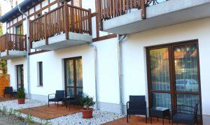 Vom Balkon aus die herrliche Natur genießen; Quelle: Kleines Hideaway bei Brandenburg - beauty24 GmbH